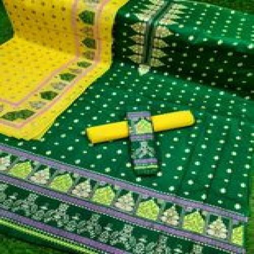 New Afsan Print Cotton Three Pcs-11