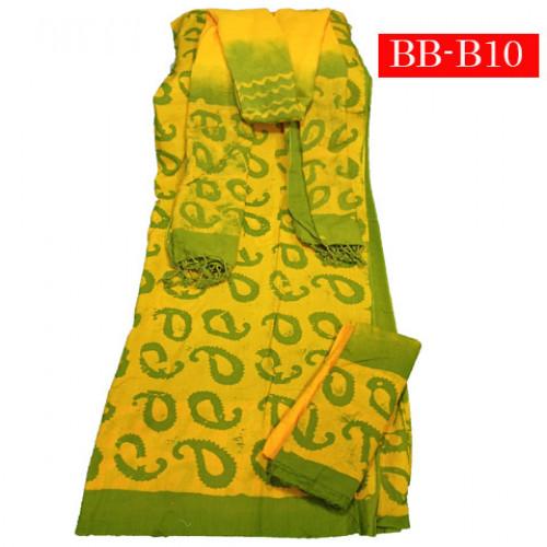 Batik High Quality Three piece B-10