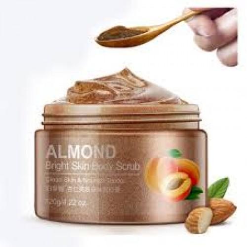 BIOAQUA Almond Body Scrub - 120gm