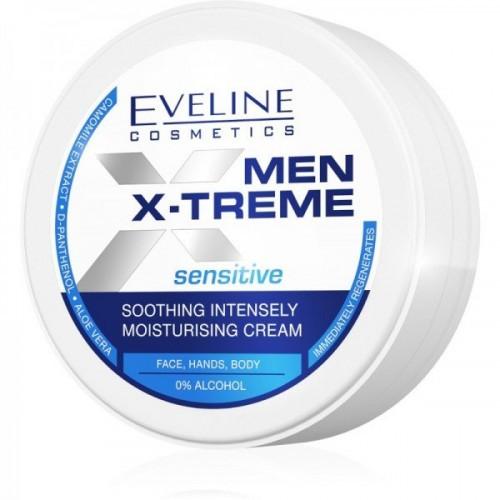Men X-Treme Sensitive Soothing Intensely Moisturising Cream