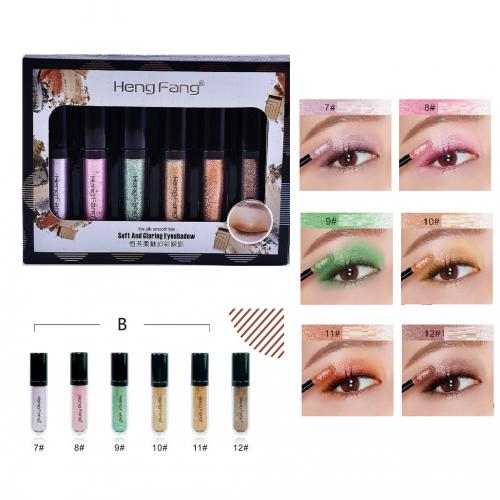 Heng Fang Glitter Eyeshadow pack of 6 pcs