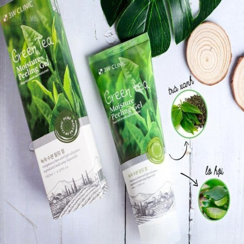 Green Tea Moisture Peeling Gel