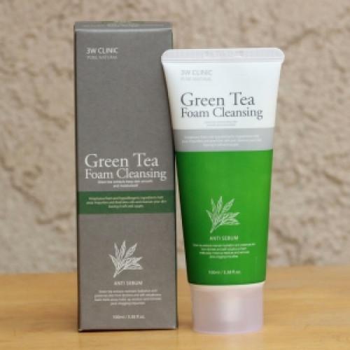 Green Tea Foam Cleansing