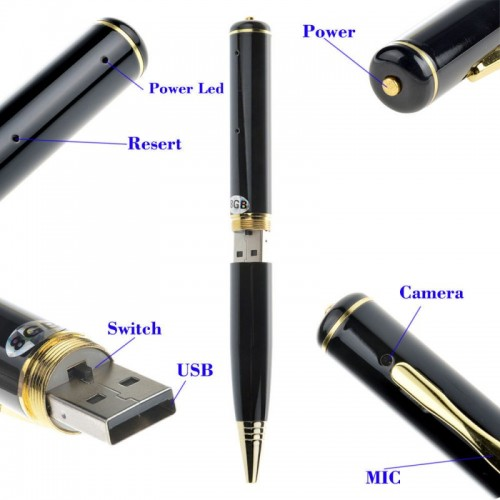 spy pen camera with 32 GB memory