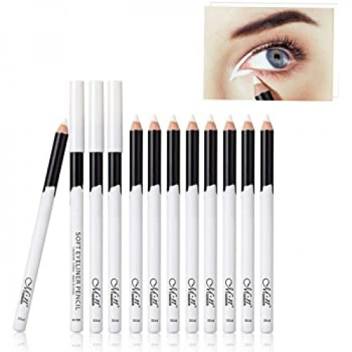 Waterproof Soft Eyeliner Pencil-White