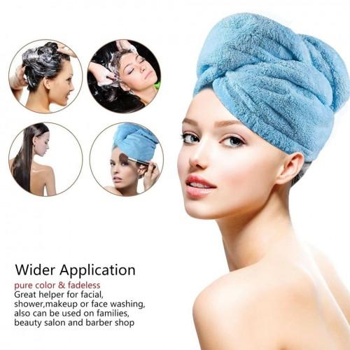 Magic Microfiber Quick Drying Hair Towel