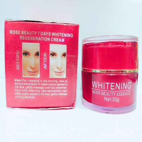 Whiting rose beauty cream