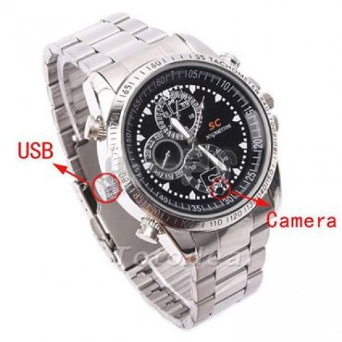 Spy Watch Camera 32gb memory
