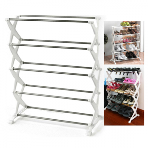 Shoe Rack holds up to 15 pairs of shoes