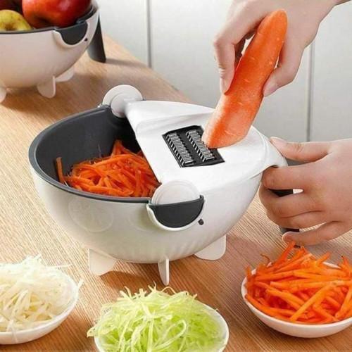 Multifunction Wet Basket Vegetable Cutter