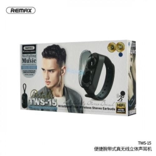 Remax TWS-15 Fashion Wristband True Wireless Stereo Earbuds
