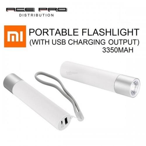 MI Portable Flash Light with power bank