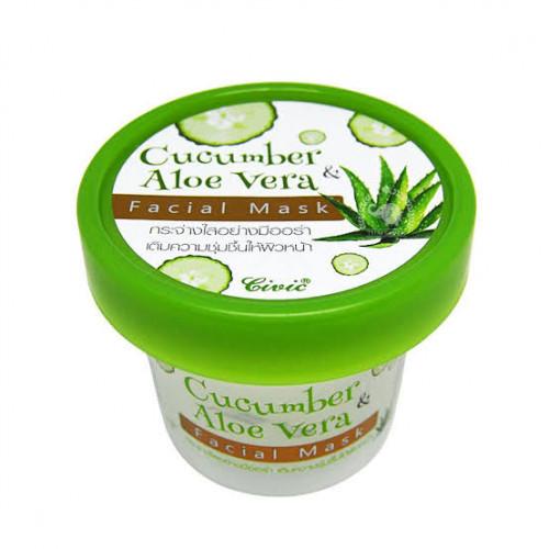 Cucumber Aloe Vera Facial_Mask