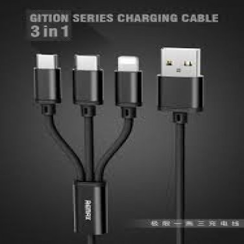 REMAX RC-131th 3in1 data cable