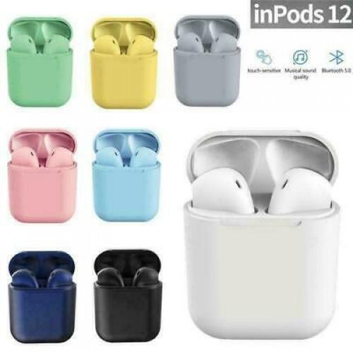 Inpods 12 TWS Stereo Wireless Headphones