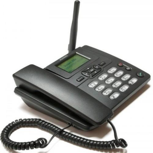 Dual SIM Supported Land Phone Panasonic GSM  - Black