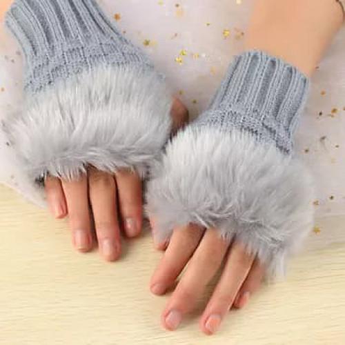 Woman Fashion Finger Gloves