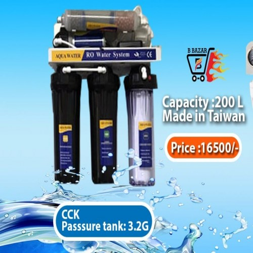 CCK White RO Water Purifer by Taiwan