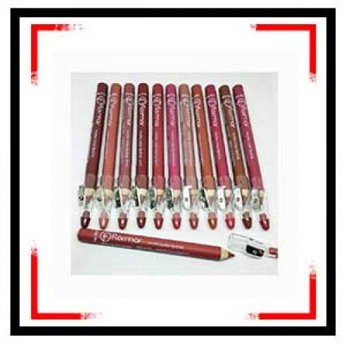 Flormar Pencil Lipstick  12 Pcs
