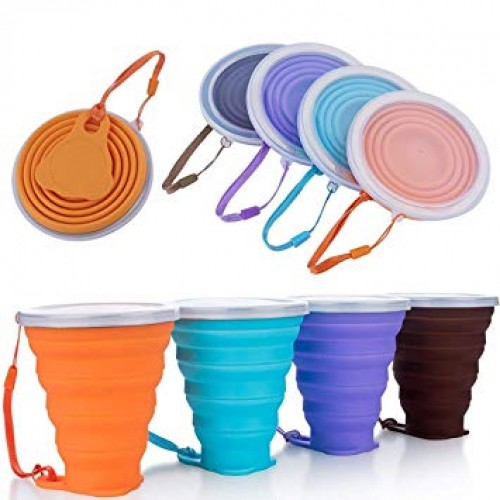 Silicone  Folding Cup Portable