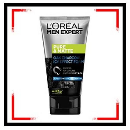 LOreal Paris Men Expert Pure & Matte Charcoal Black Foam