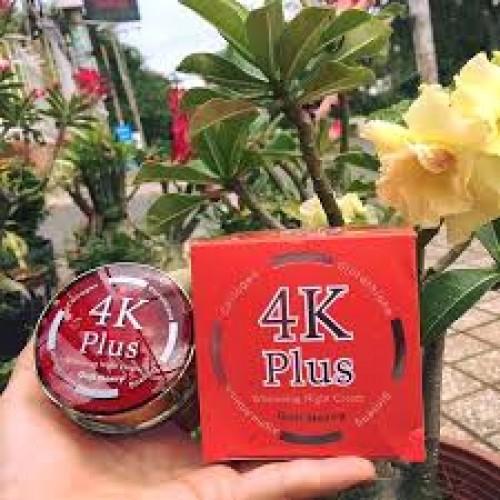 4k Plus Whitening Night Cream (Red)