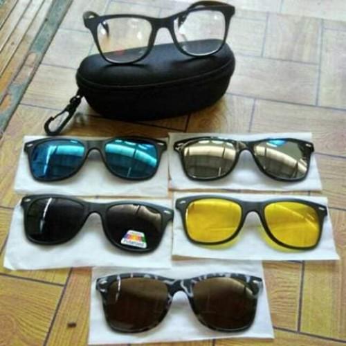 6 in 1 Magnetic Sunglasses