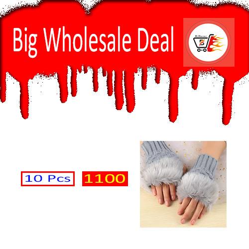 Woman Fashion Finger Gloves 10 Pcs