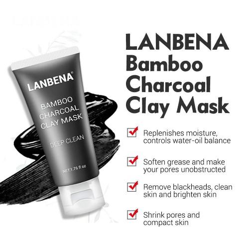 LANBENA Bamboo Charcoal Clay Mask