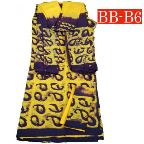Batik High Quality Three piece BB-B6