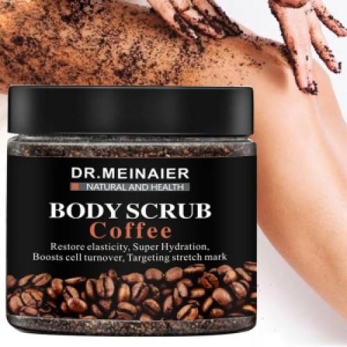 Dr. Meinaier body scrub coffee