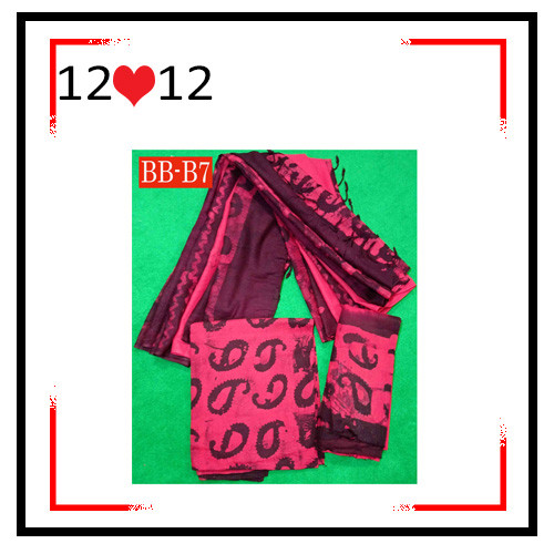 Batik High Quality Three piece BB-B7
