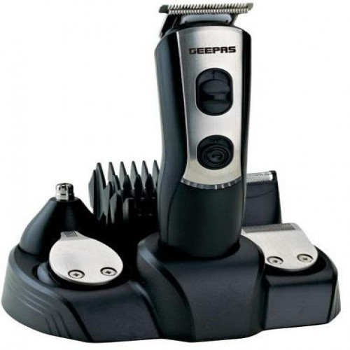GEEPAS 9 IN 1 TRIMMER AND SHAVER GTR8612 – BLACK