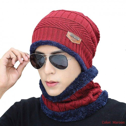 Winter warm cap