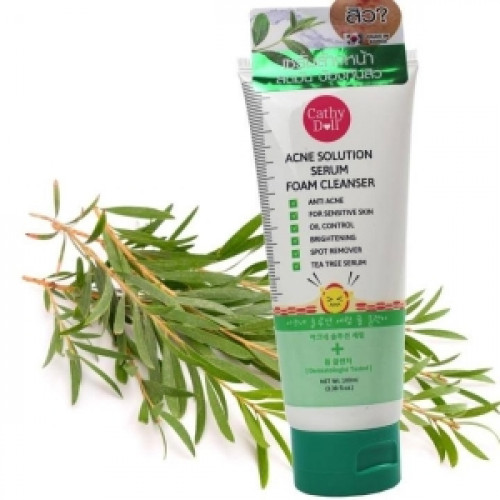 Acne Solution Serum Foam Cleanser