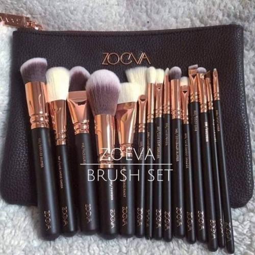 Zoeva Brush set -15pcs set with bag