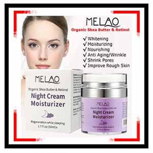 MELAO Organic Retinol Moisturizer Nourishing Night Cream