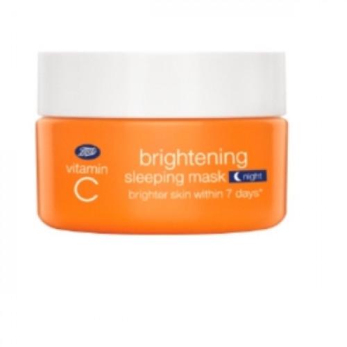 Boots Vitamin C Brightening Sleeping Night Mask