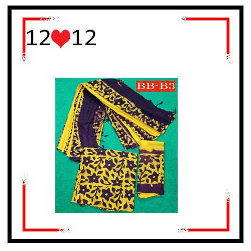 Batik High Quality Three piece BB-B3