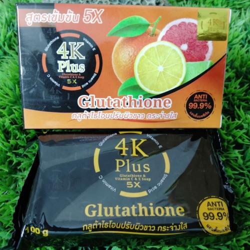 4K PLUS 5X GLUTATHIONE Soap