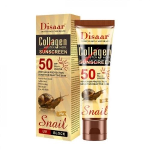 Disaar Collagen Snail Multi-effect Sunscreen Facial Body Whitening Skin Cream